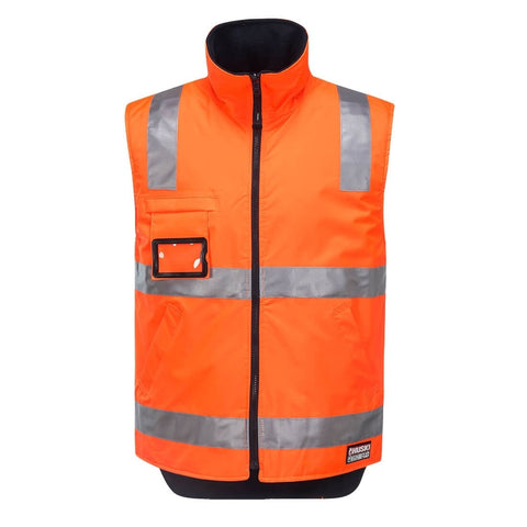 Reversible Polar Fleece Traffic Vest