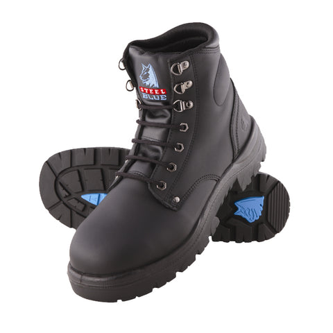 Steel Blue Argyle Safety Boots