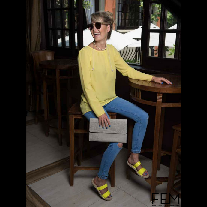 Mellow Yellow: The optimistic color trend!