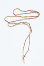 Addis Spike Necklace, Sunset Hues