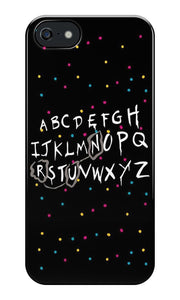 """Run""- Stranger Things Iphone Case"