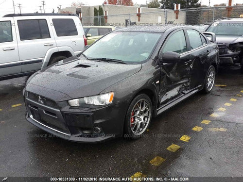 2010 Mitsubishi Lancer Evolution X MR