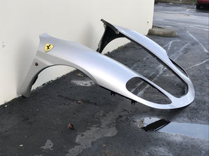 Used Ferrari 360 Front Nose, pair of fenders in silver