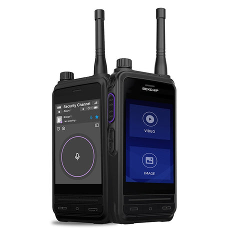 S900A Plus DMR & 4G LTE Multimode PTT-Over-Cellular all in One Network Radio - Boxchip | Multi-mode Smart Terminal Solutions Provider