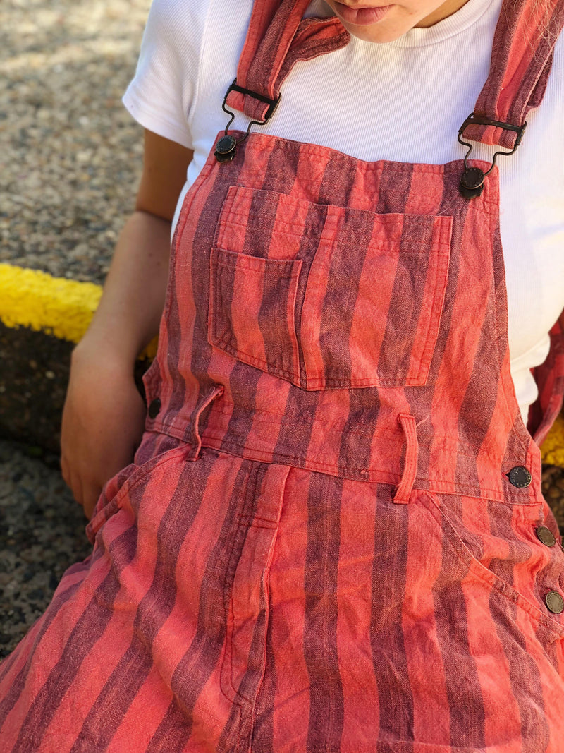 Isla Vintage Short Overalls Size 10-12