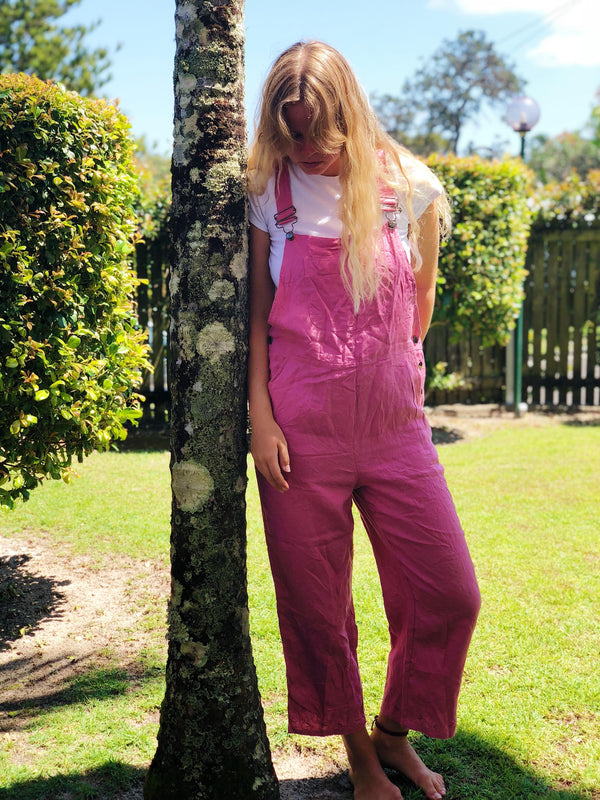 Lexi Vintage Long Overalls Size 10