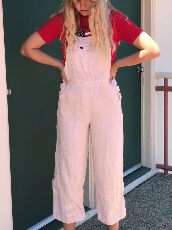 Robyn Vintage Long Overalls Size 8-10