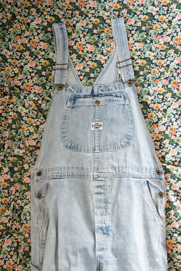 Light Denim Overalls - E3