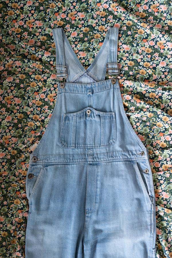 Light Denim Overalls - E6