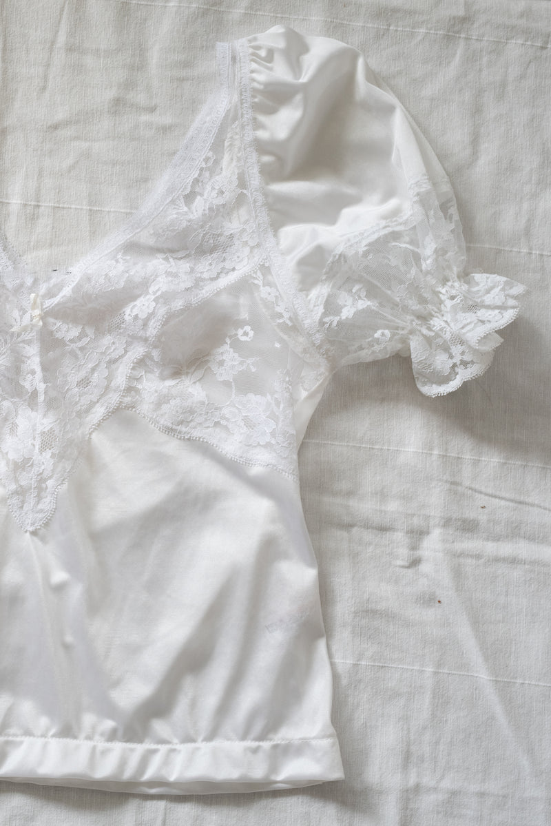 ELLIE VINTAGE LACE BLOUSE