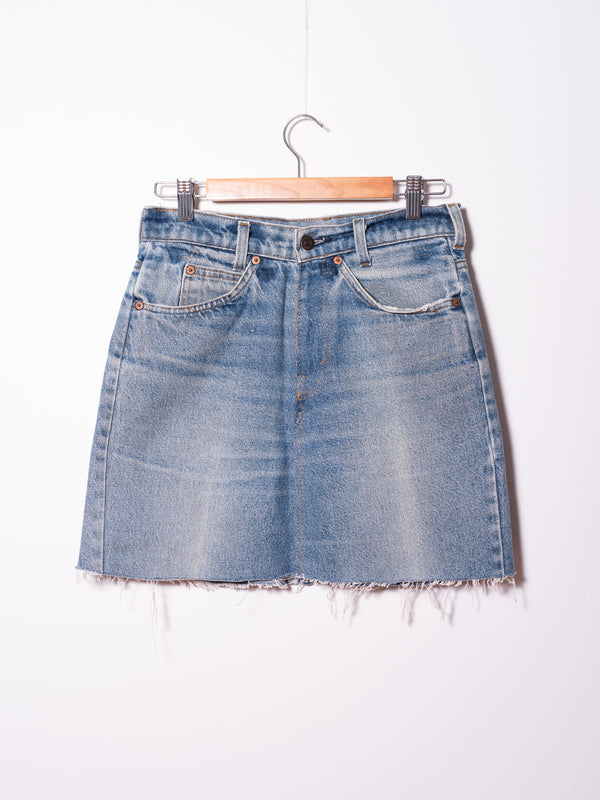 Vintage Levi's Denim Skirt 01