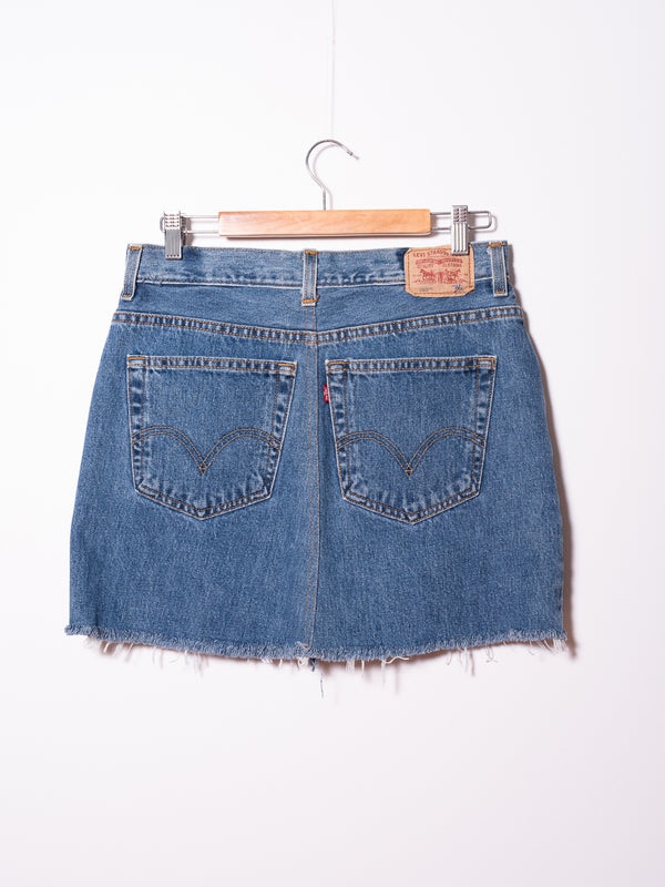 Vintage Levi's Denim Skirt 04