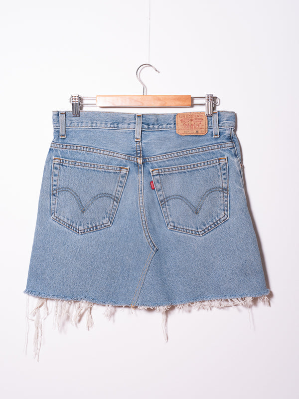 Vintage Levi's Denim Skirt 05