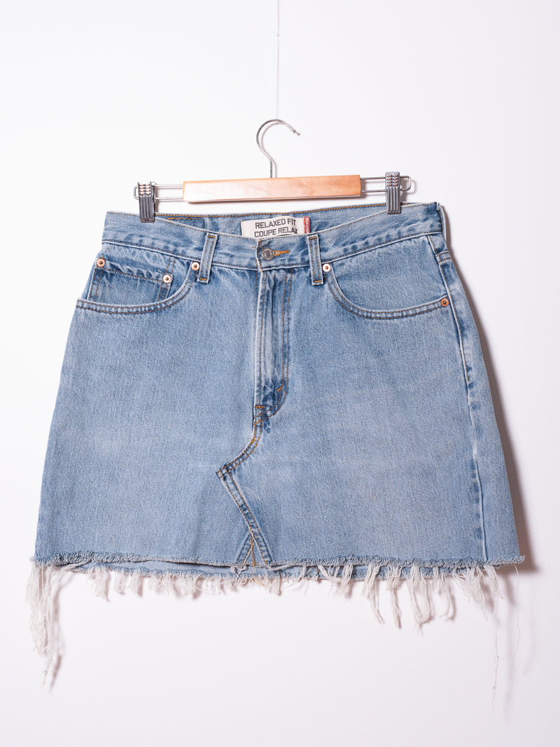 Vintage Levi's Denim Skirt 06