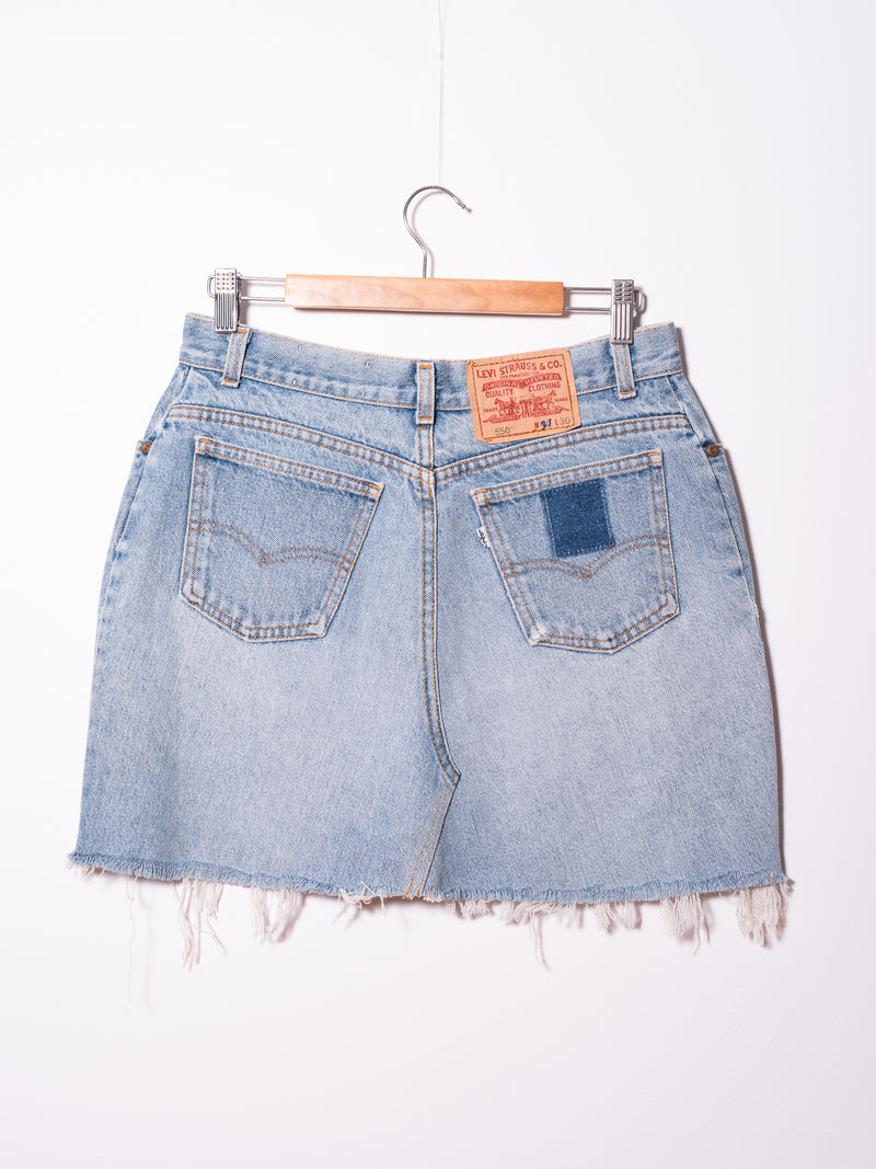 Vintage Levi's Denim Skirt 09