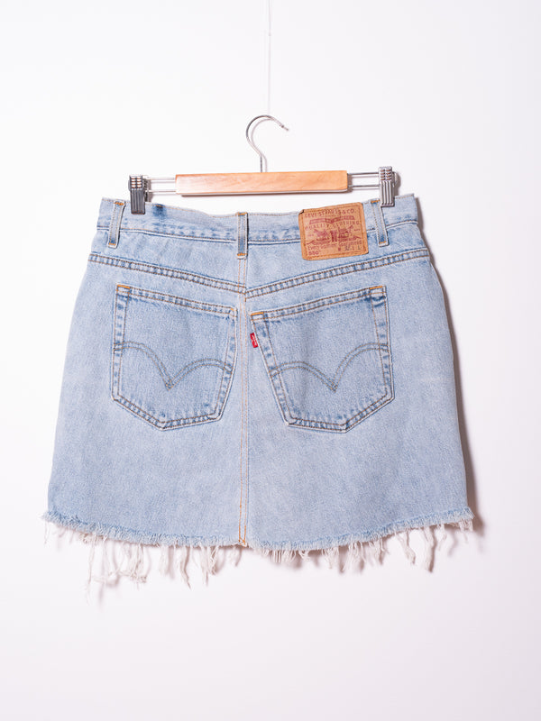 Vintage Levi's Denim Skirt 010