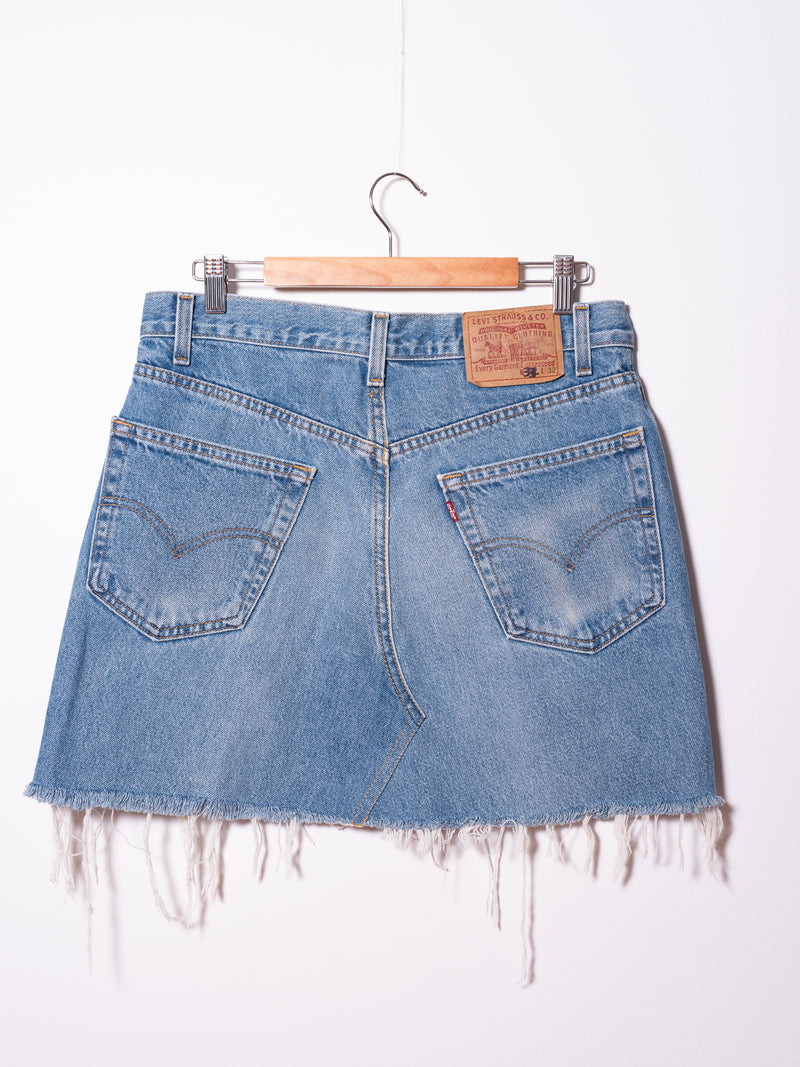Vintage Levi's Denim Skirt 015