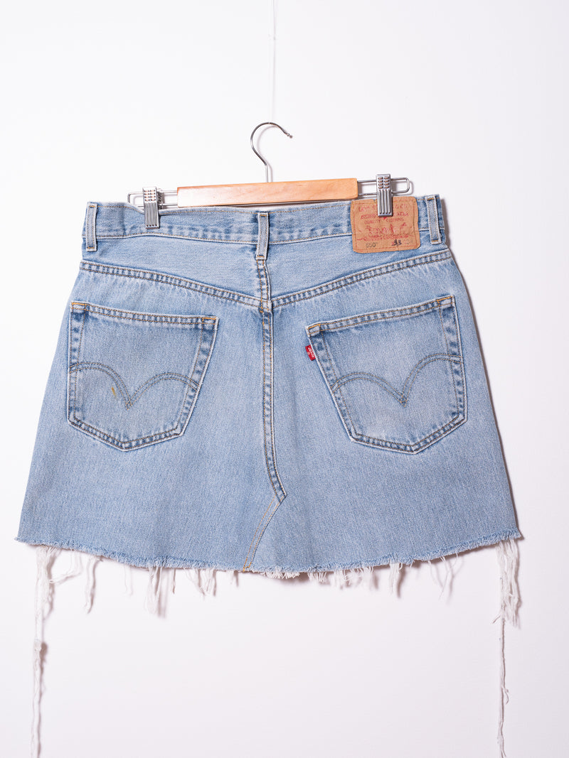 Vintage Levi's Denim Skirt 016