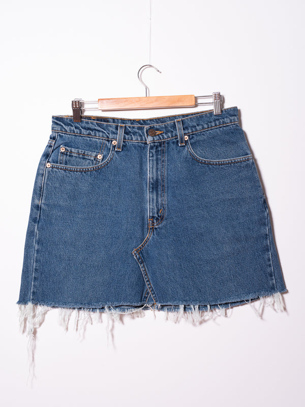 Vintage Levi's Denim Skirt 017