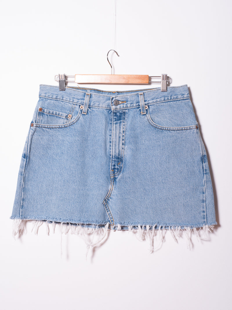 Vintage Levi's Denim Skirt 019