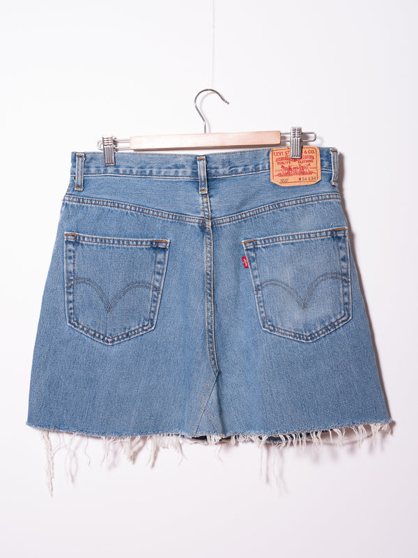 Vintage Levi's Denim Skirt 020