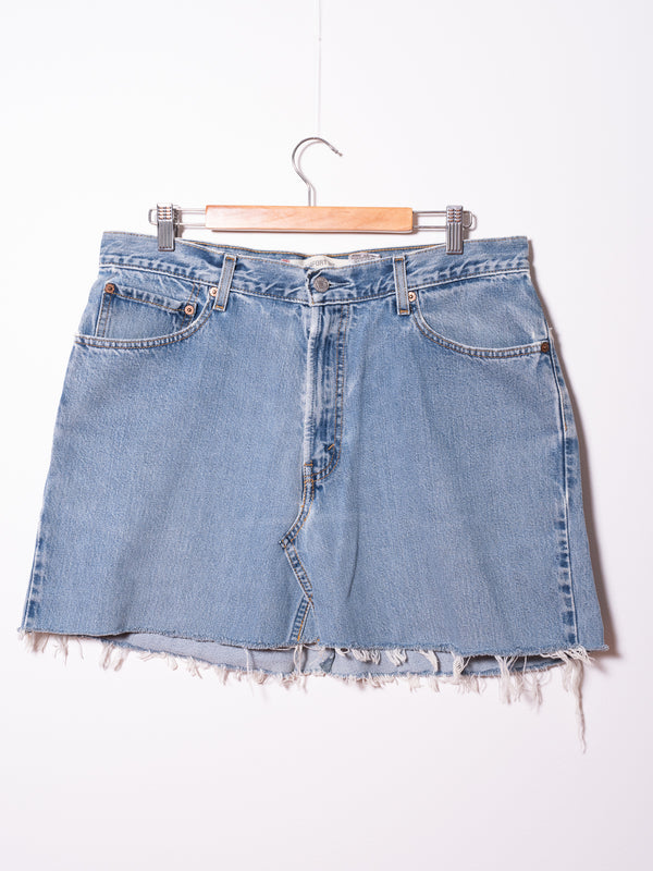 Vintage Levi's Denim Skirt 023