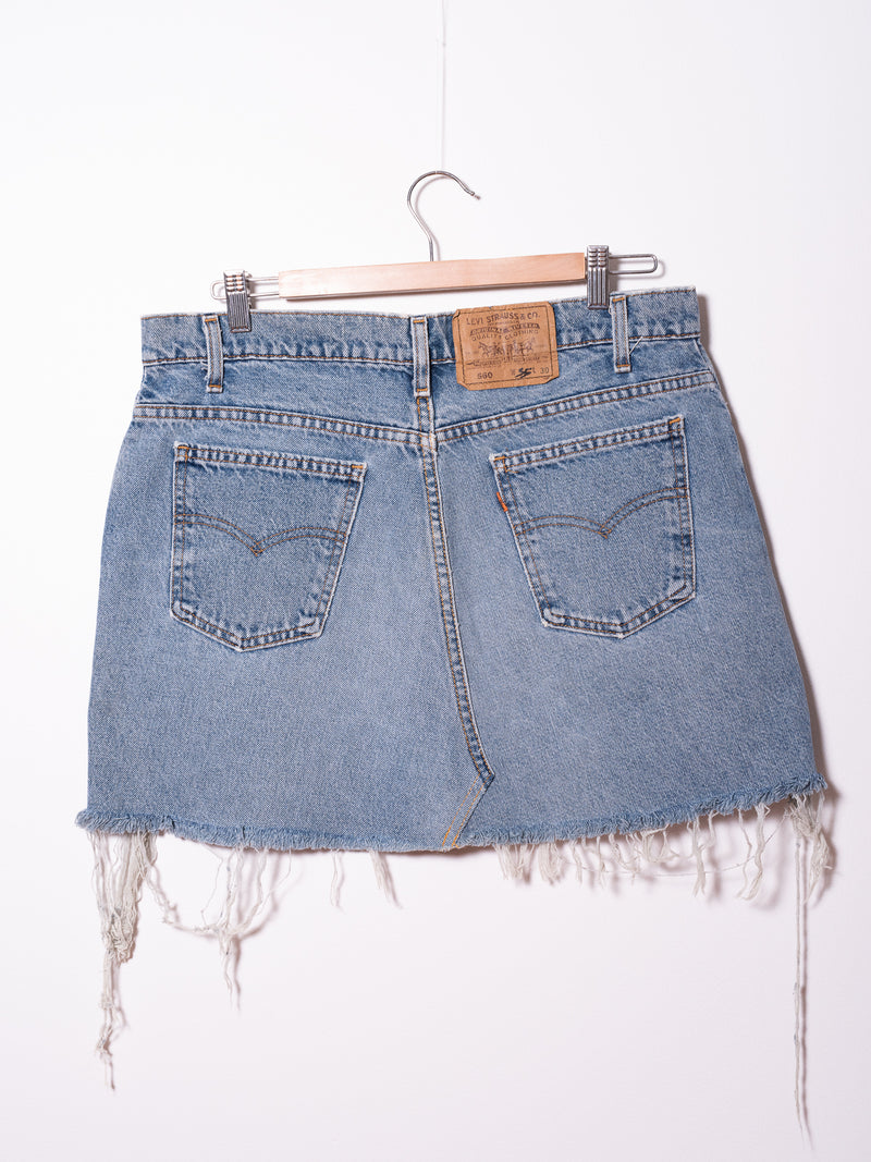 Vintage Levi's Denim Skirt 024