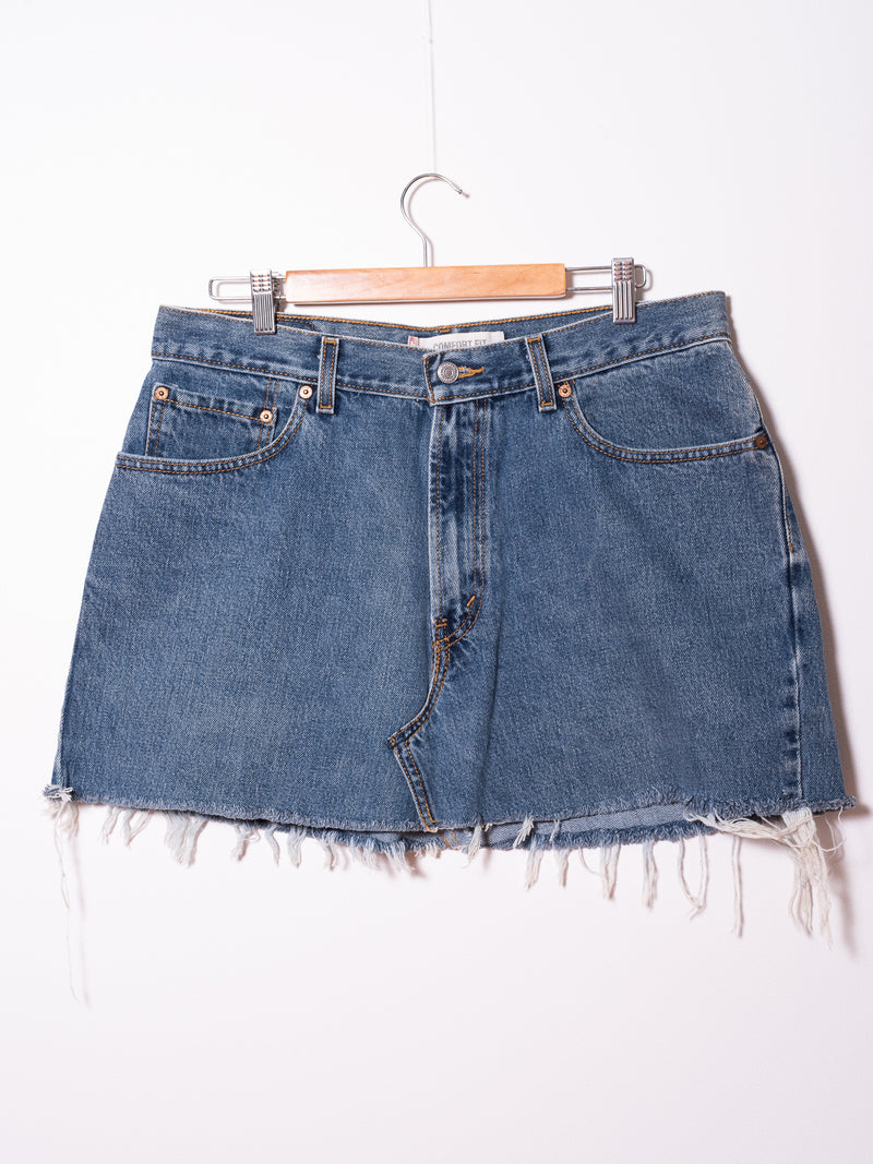 Vintage Levi's Denim Skirt 025