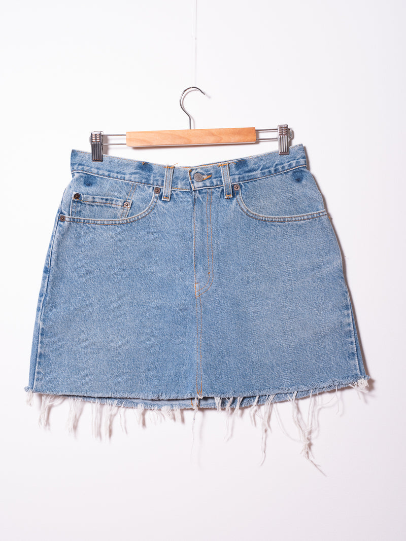 Vintage Levi's Denim Skirt 035