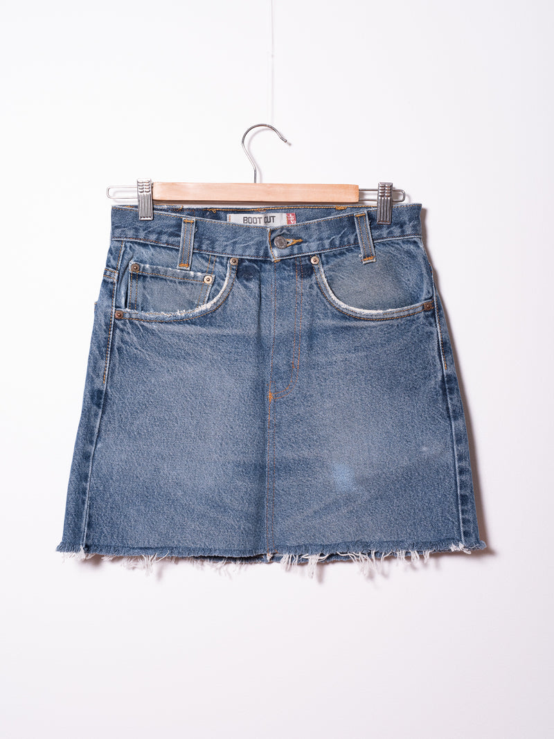 Vintage Levi's Denim Skirt 038