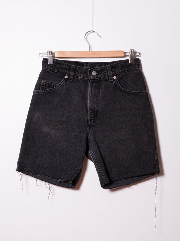 Vintage Levi's  Black Denim Shorts 107