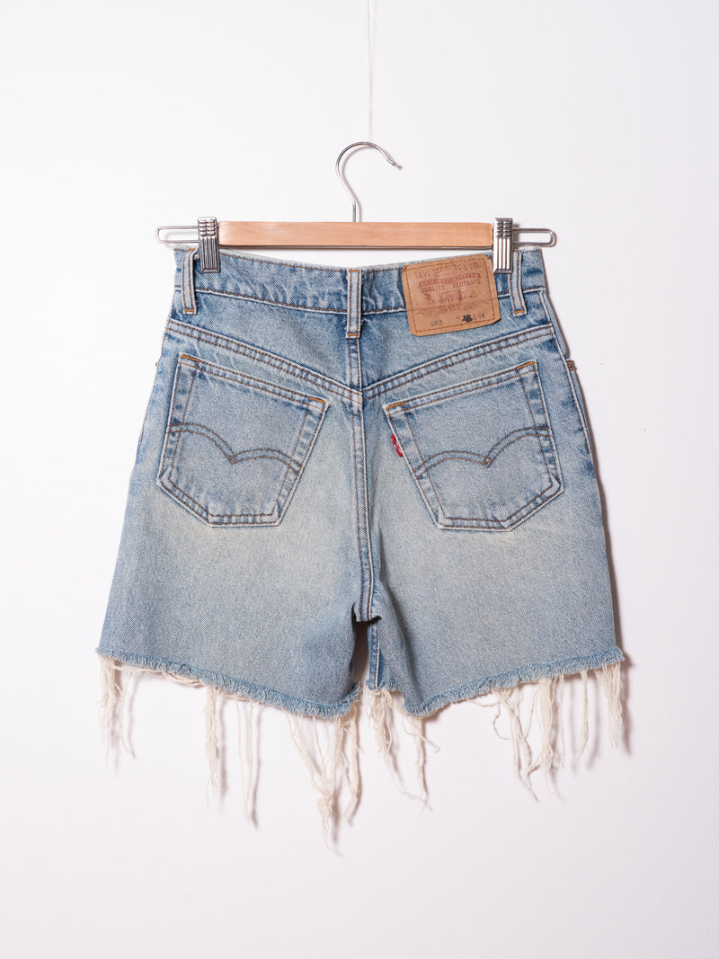 Vintage Levi's  Denim Shorts 140