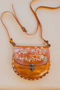 The Josette Vintage Leather Bag