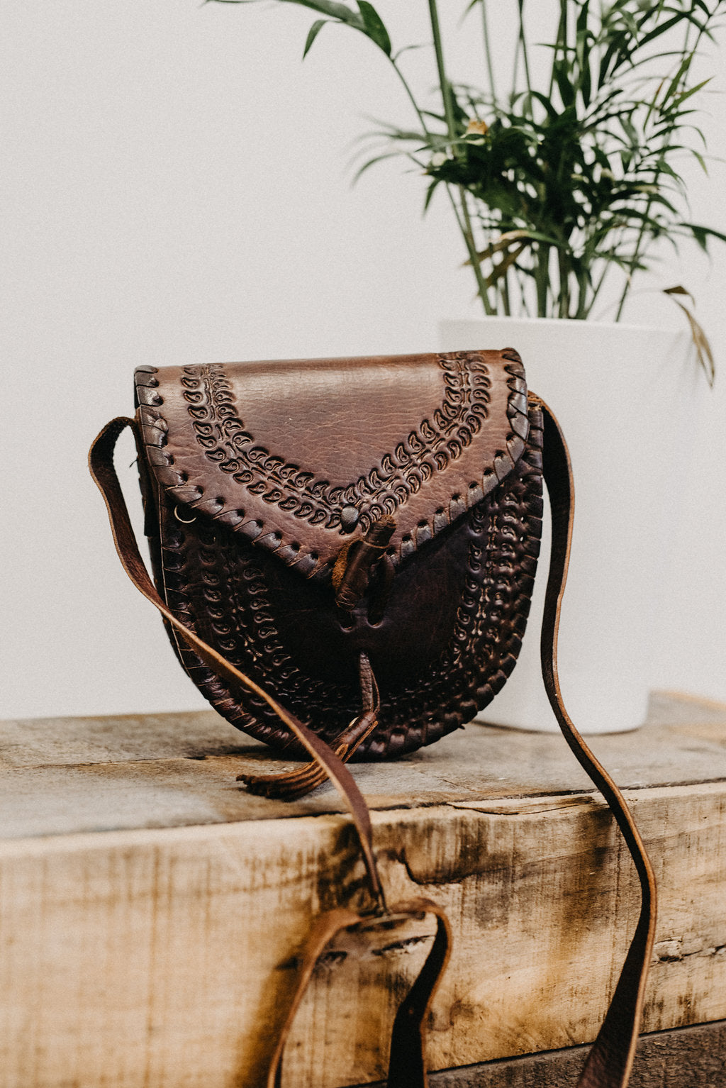 The Freya Vintage Leather Bag