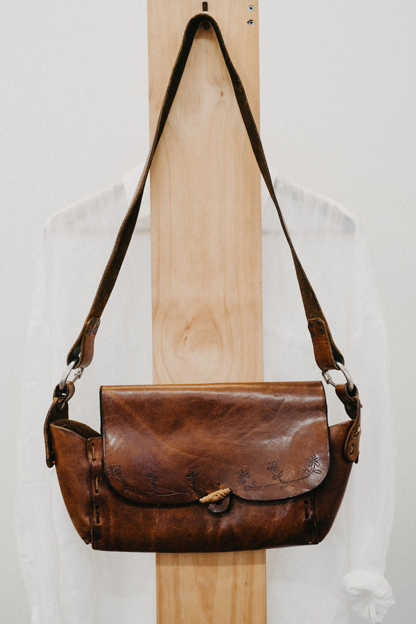 Gennie Vintage Leather Bag