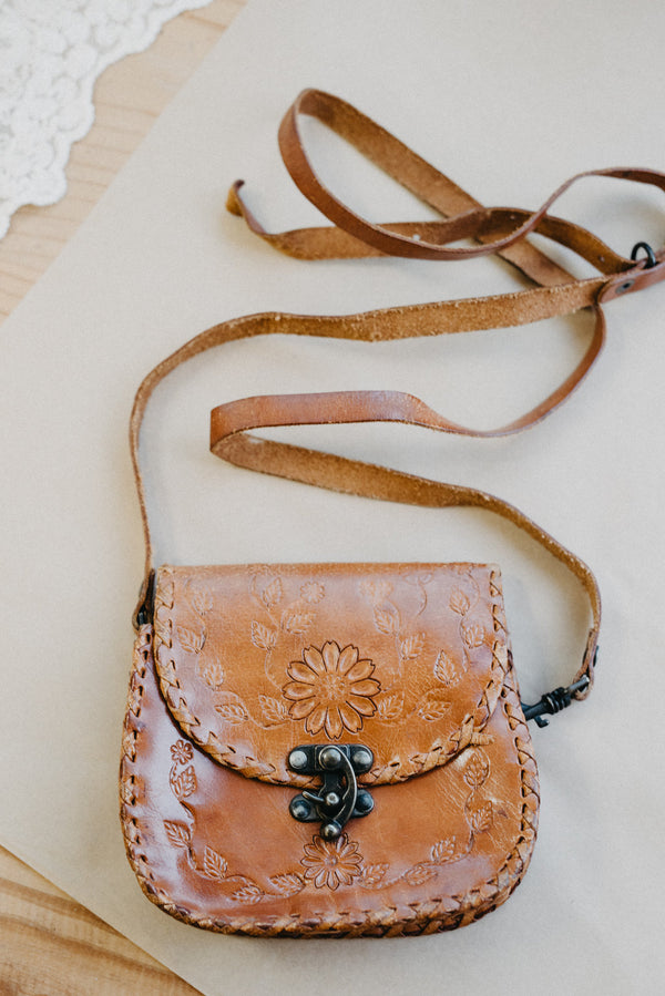 Gloria Vintage Leather Bag