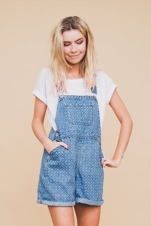 The Tabitha Denim Overall Shorts