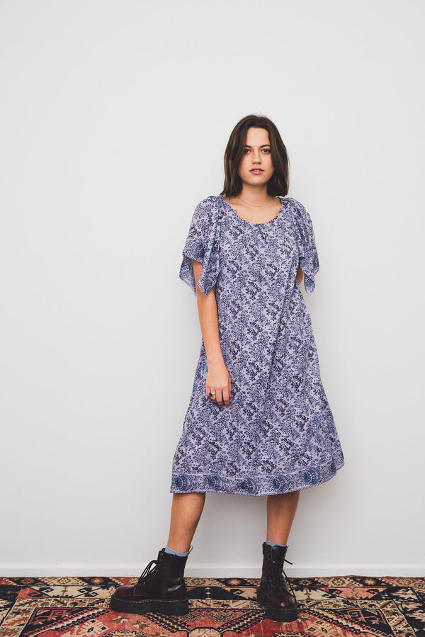Shiloh Vintage Cotton Midi Dress Size 8-10