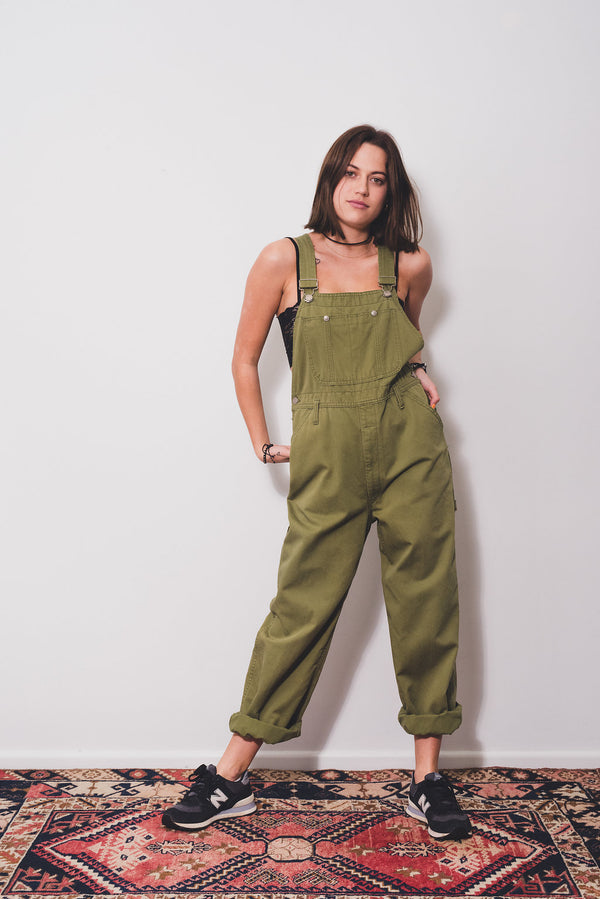 Hunter Vintage Long Overalls Size 8-10