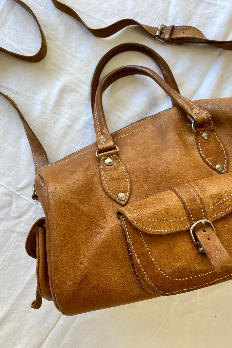 Hazel Vintage Leather Bag