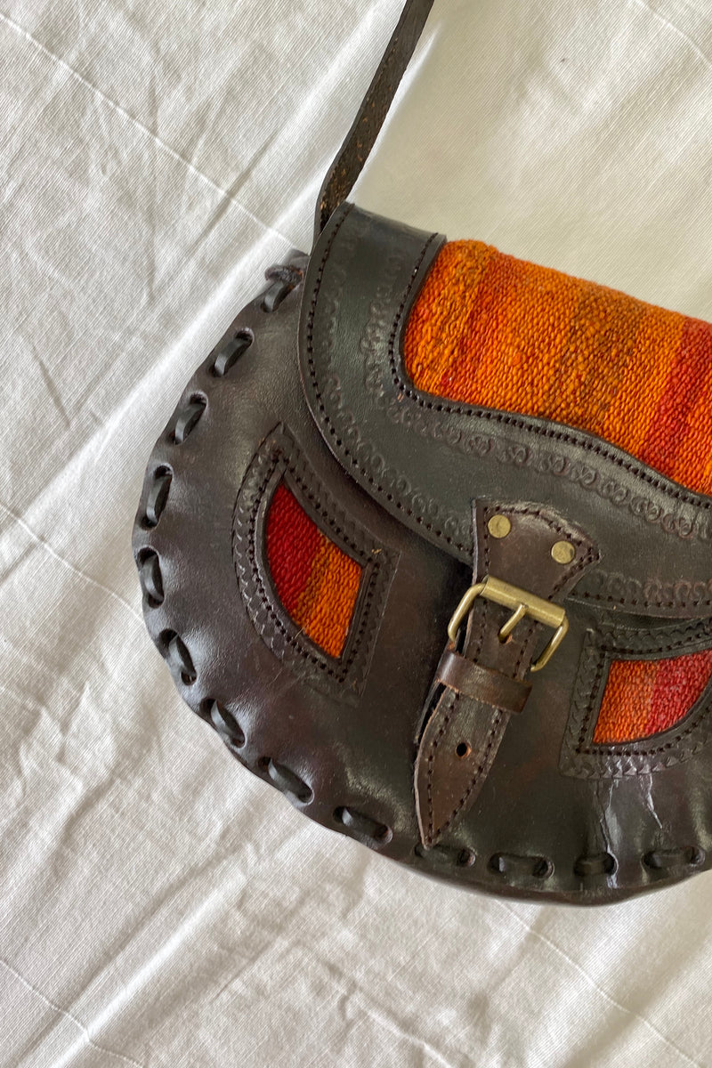 Emelia Vintage Leather Bag