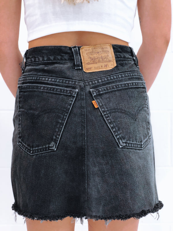 Vintage Levi's Denim Skirt Size 7