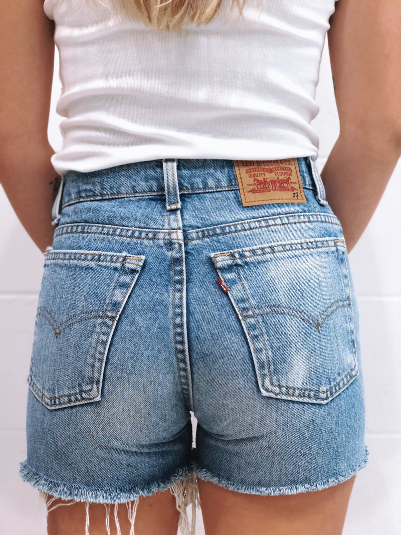 Vintage Levi's Denim Short Size 7
