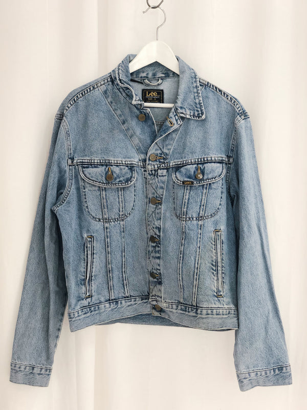 Lee Denim Jacket Size 10-12