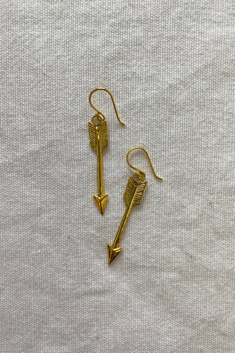Leah Gold Earrings