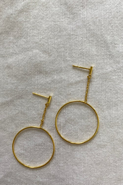 Hazel Gold Earrings