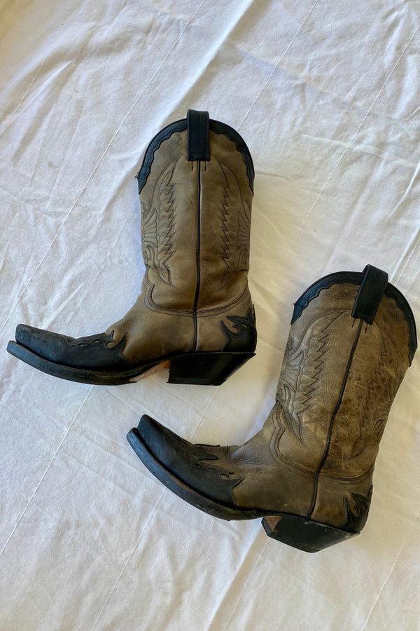Keely Western Vintage Boots