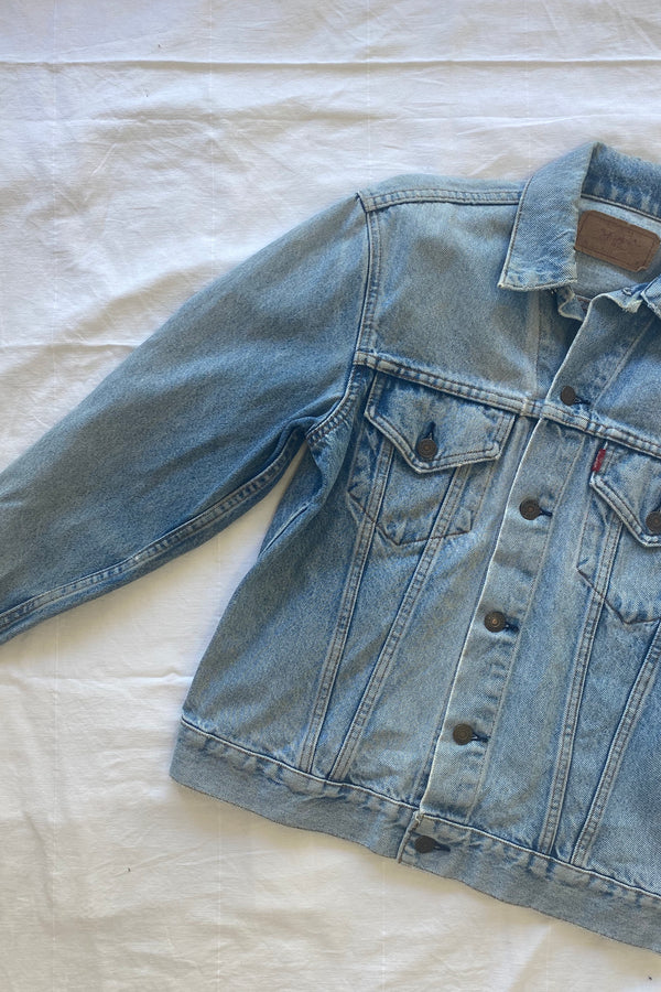 Mink Denim Jacket