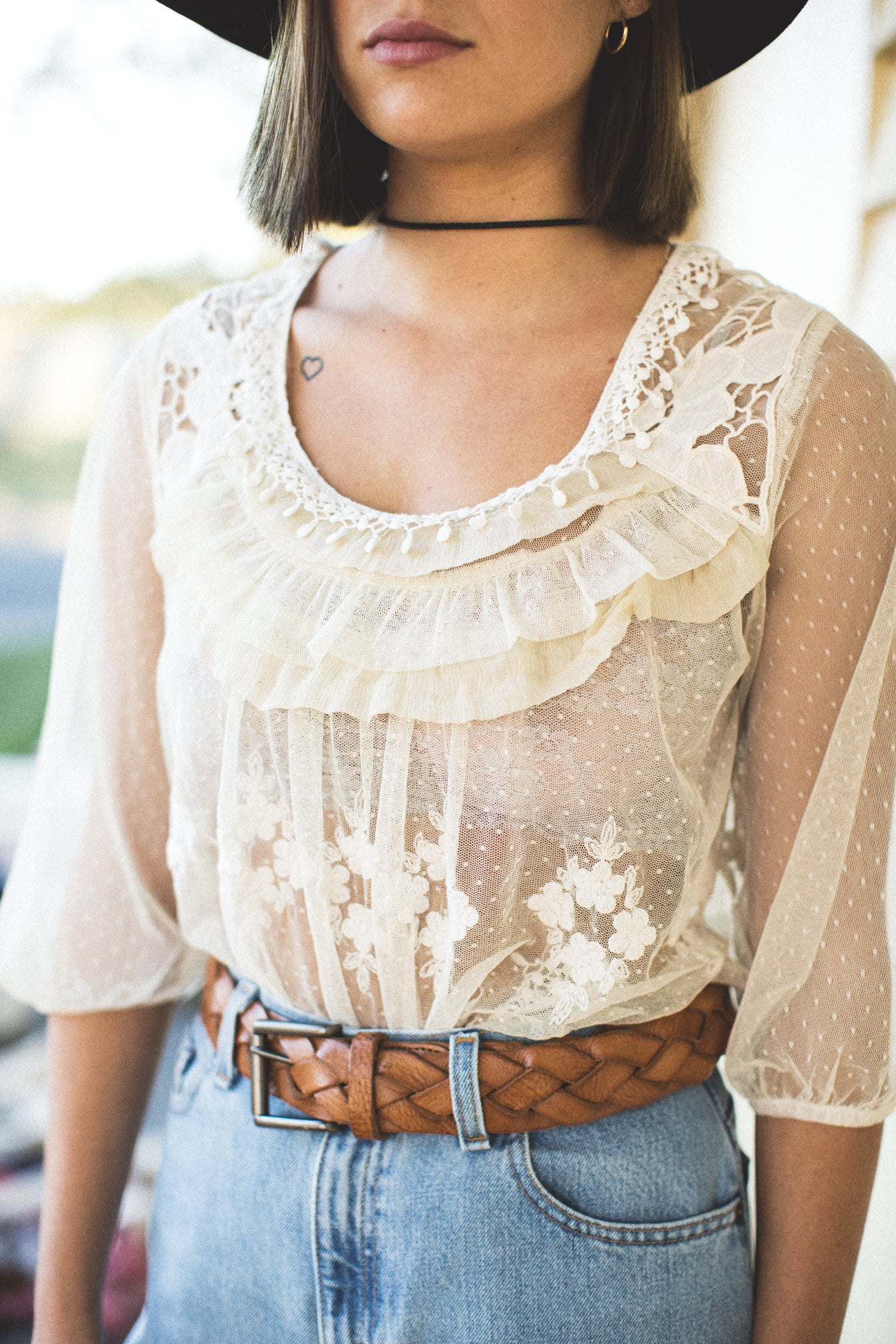The Jody Vintage Lace Top