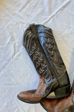 Edith Western Vintage Boots